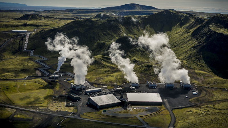 Direct air capture and storage in Iceland